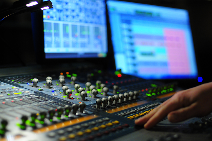 Live Sound Training Production Studio Image