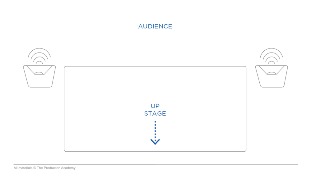 Live Sound Training Stage Direction Up