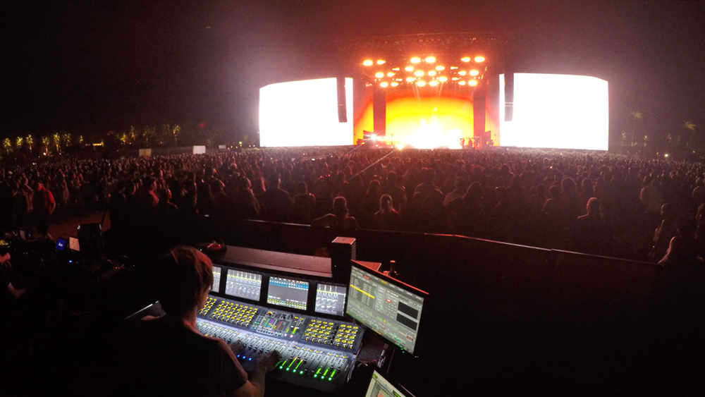 Mixing Haim, Coachella Main Stage 2018