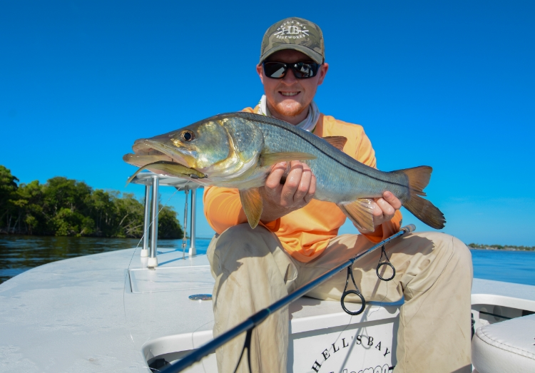 Using a Poling Skiff significantly increases your chances of sneaking up on spooky snook