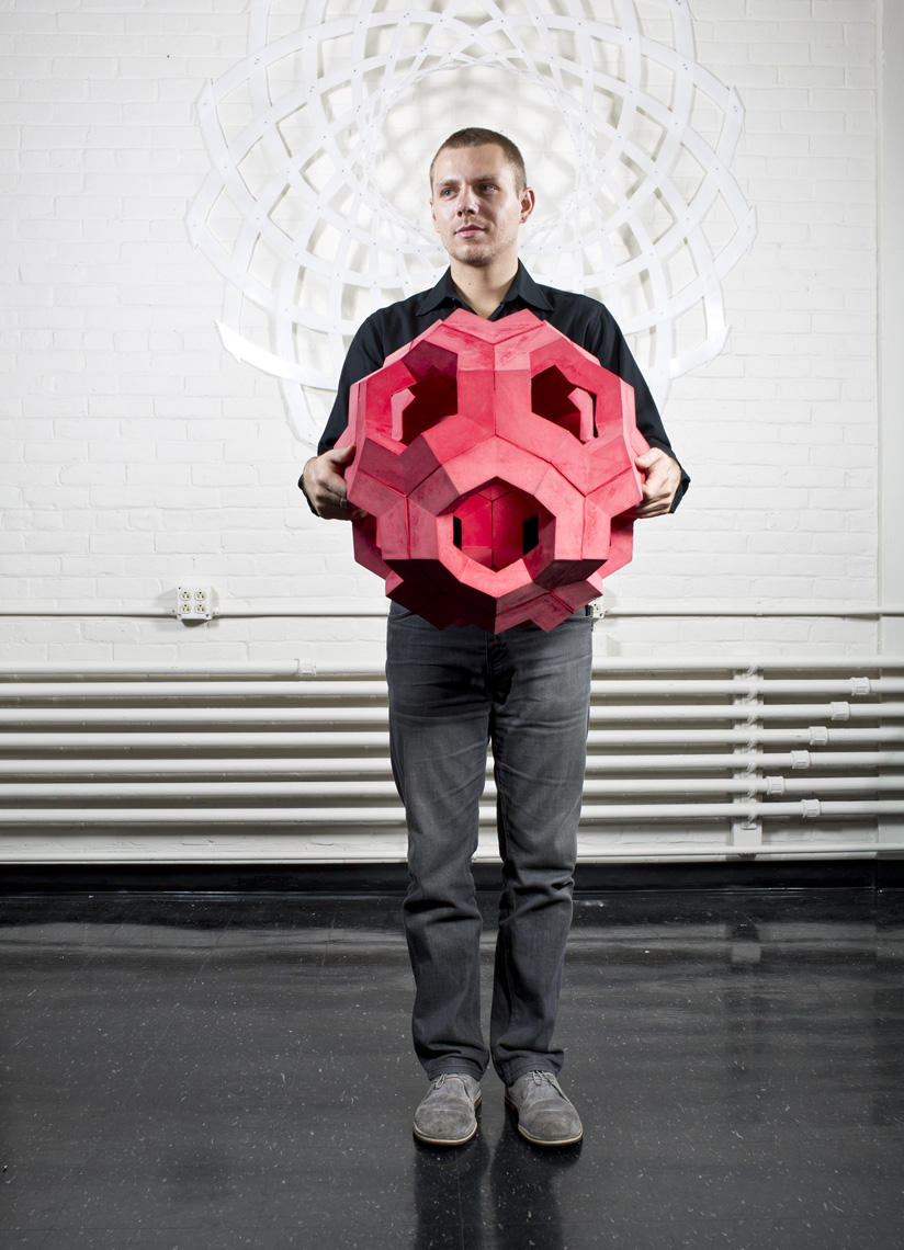 Skylar Tibbits, self assembly lab, MIT