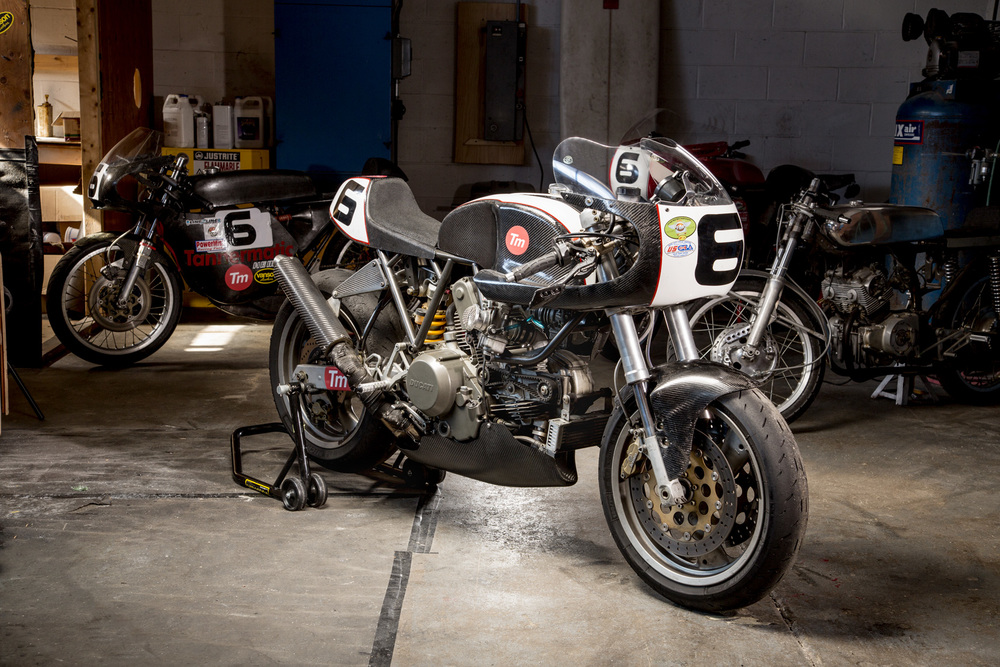 Tannermatic Ducati 750ss
