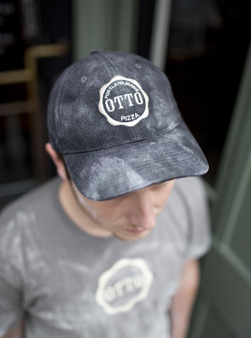 A Pizza Chef at Otto Pizza Portland Maine