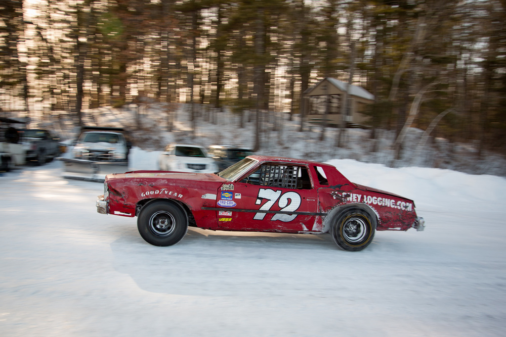 Ice Racing in Moultonborough NH