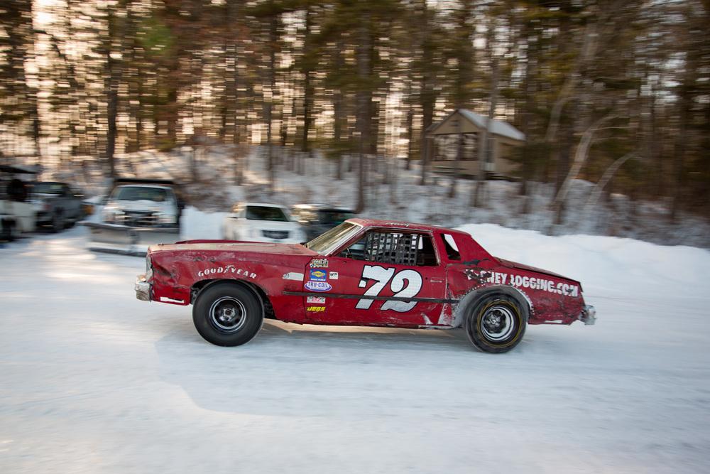 Ice Racing in Moultonborough NH