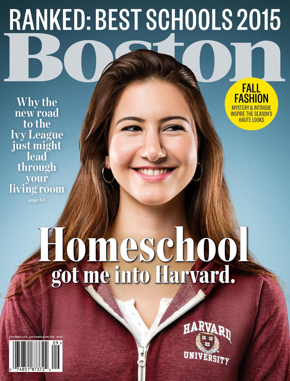 I got to shoot the cover story about homeschooling in August for the Schools issue of Boston Magazine. The subjects they chose were amazing and it was one of my favorite job of the year. Check out the article HERE and a gallery of outtakes HERE. Thanks to Eric and Toan for the job, and Zach Vitale for the retouching.