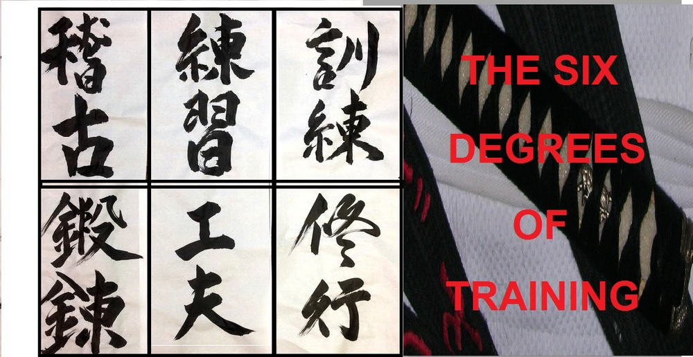 THE SIX DEGREES OF TRAINING