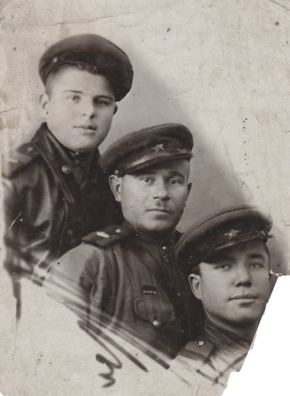 Sverdlov, first from right.  December 25, 1944
