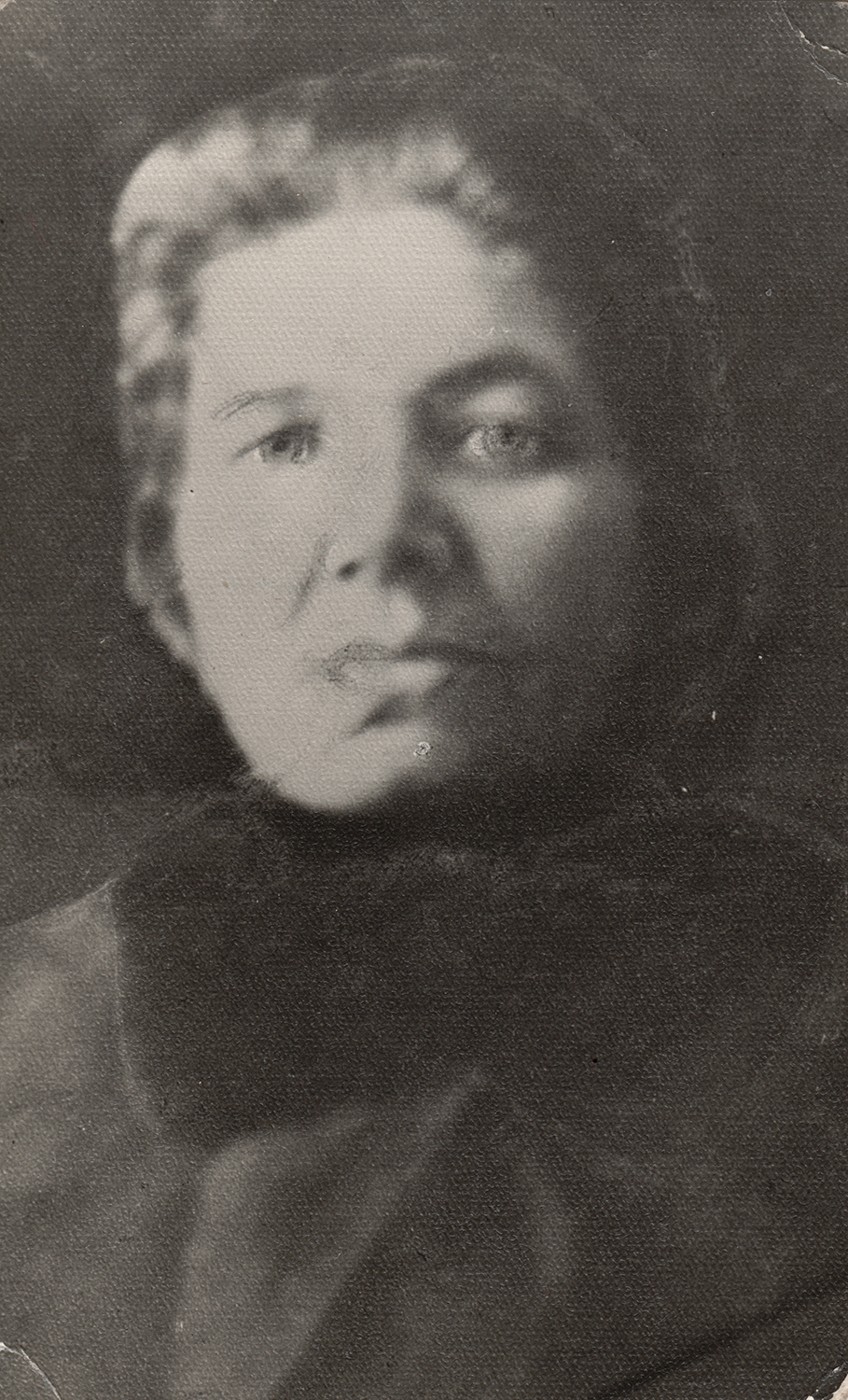 Khaya, Sverdlov's mother.  December 25, 1944