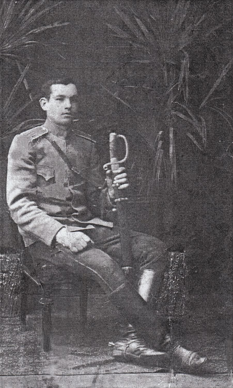 Lev Borisovich Tsaluk, Maya's father.