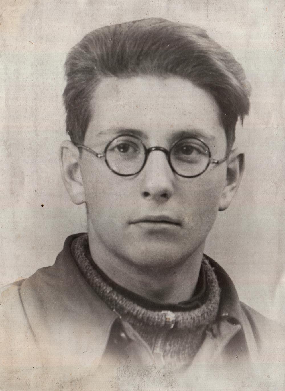 Polyak Leonard. photograph. 1941, Leningrad