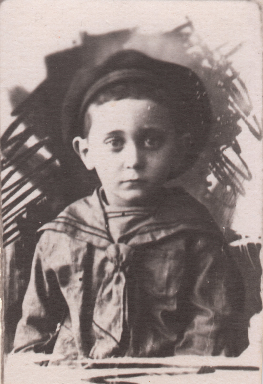 Four-year-old Yuliy Pinsky. Kyiv, Ukraine, 1927