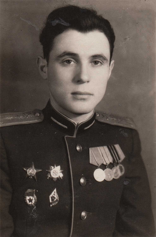 Efim Stolyarsky, St. Petersburg. 1945
