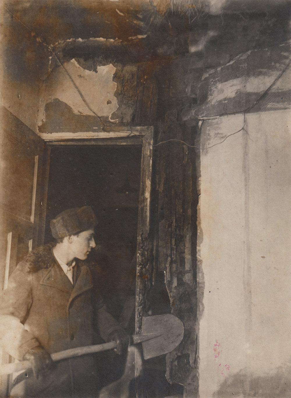Efim Stolyarsky, 1940