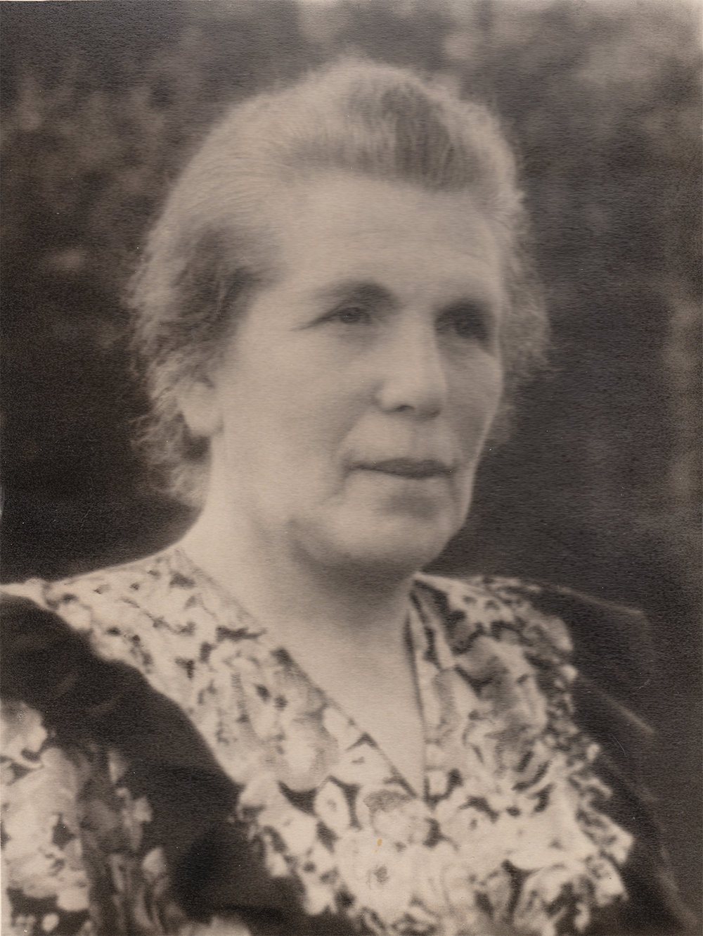 Maria Yankelevich, Mark's mother. 1945