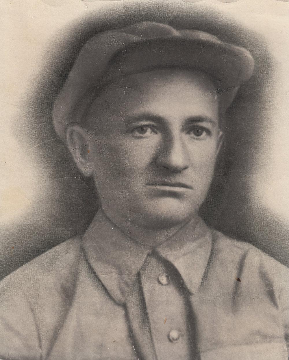 Yakov's father, Moishe Lyubarsky, 1940