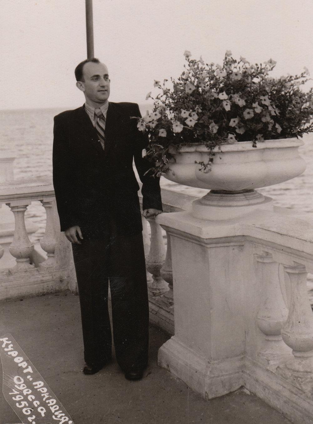 Abram Kipnis. Odesa, Ukraine, 1956