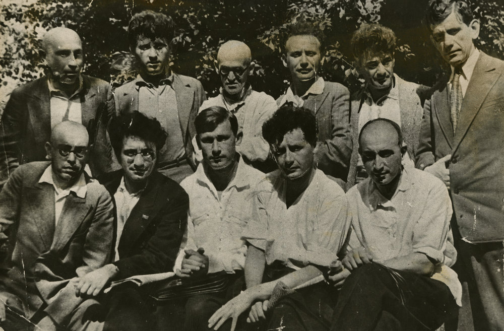 First meeting of Soviet-Jewish writers, 1929