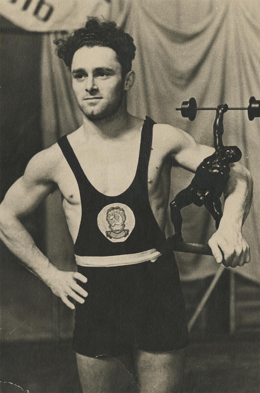 Photograph of Mikhail Bronshtein