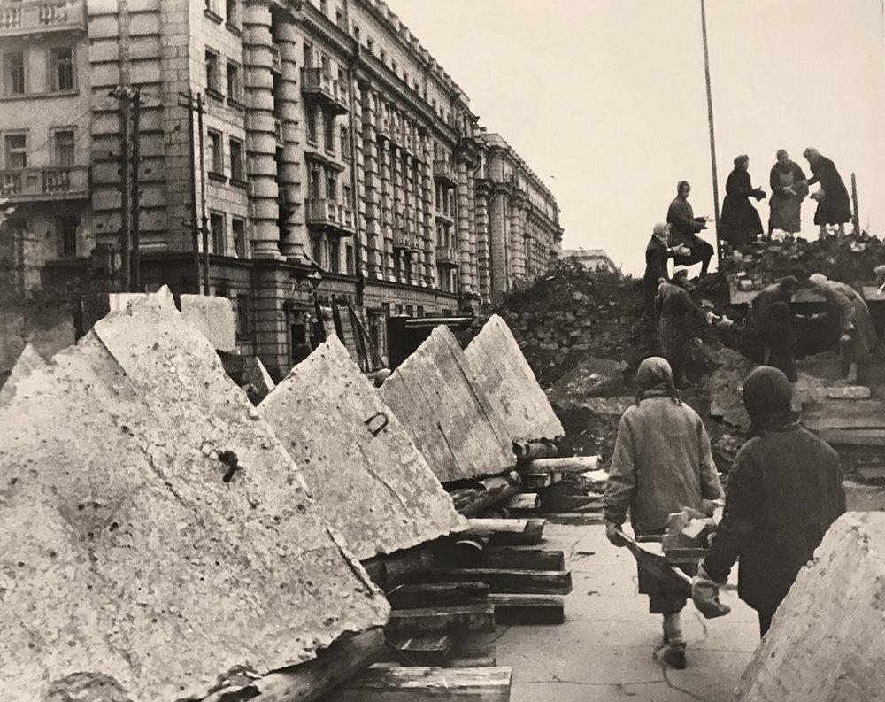 Boris Kudoyarov's photo of Leningrad under Siege during WWII