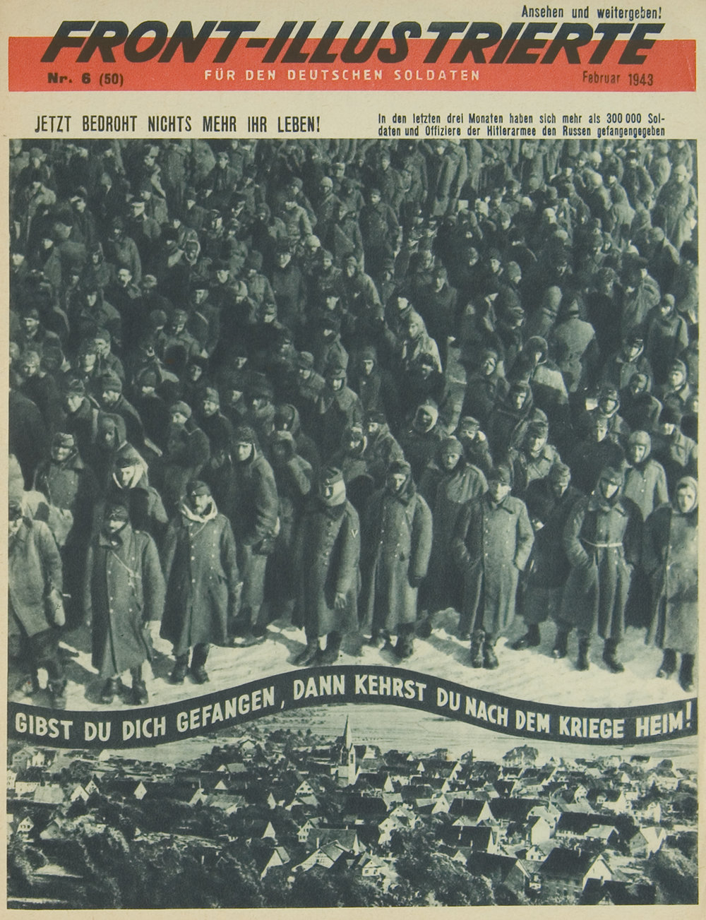 """Front-Illustrierte,"" No. 6 (50), February 1943"
