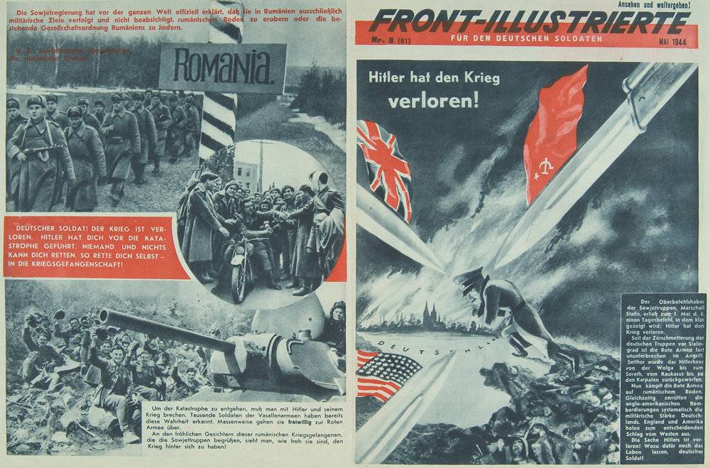 """Front-Illustrierte,"" No. 8 (81), May 1944"