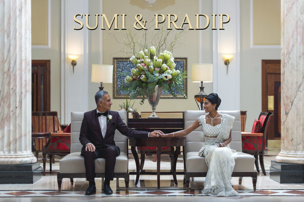Sumi & Pradip at The Taj Hotel, Cape Town