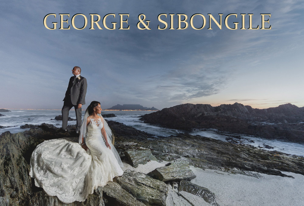 George & Sibongile at Suikerbossie, Hout Bay