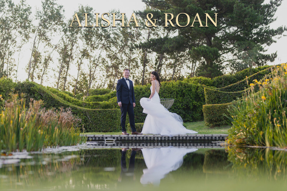 Alisha & Roan at Belair Country Club. Paarl