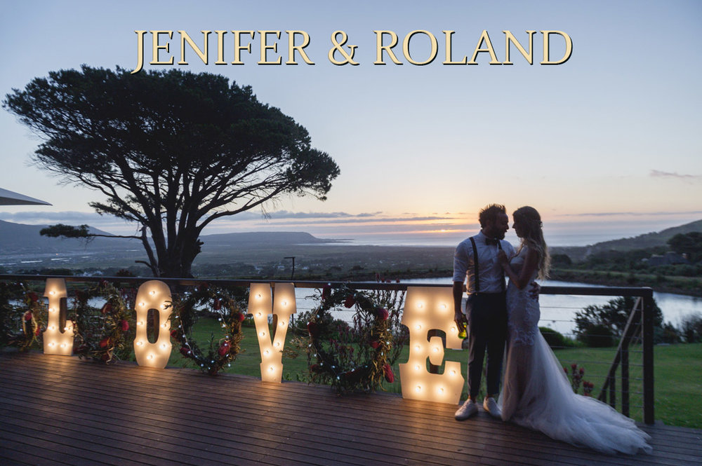 Jenifer & Roland - Cape Point Vineyard