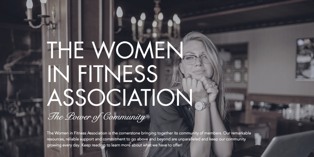 Click here to learn more about the Women in Fitness Association.