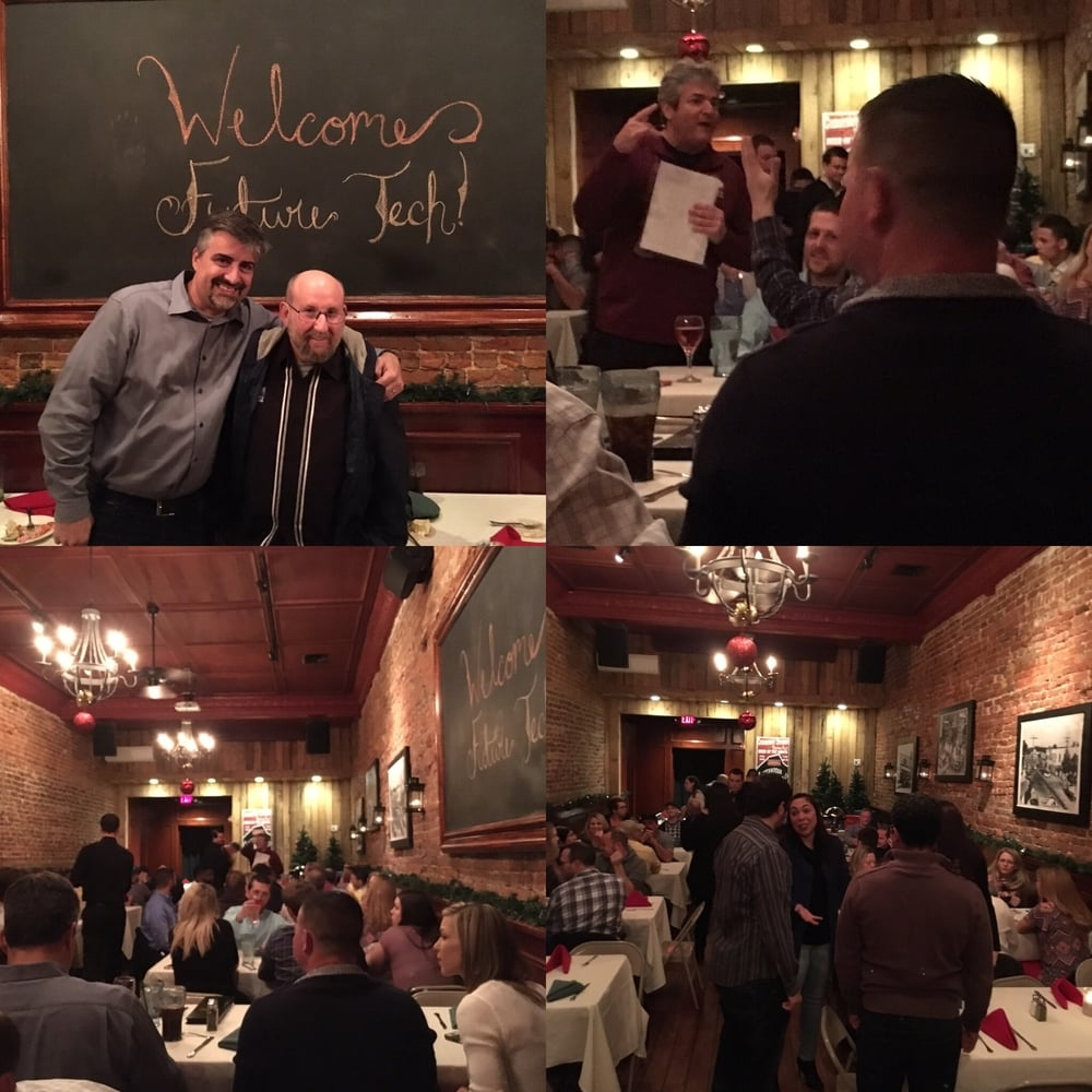 Fun was had by all at Future Tech's holiday party last week. Great chance to celebrate another successful year.