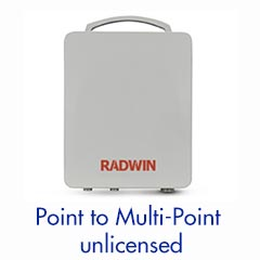 Sub 6GHz - Point to Multipoint System —Up to 750 MB