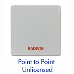 Sub 6GHz - Point to Point System —Up to 750 MB