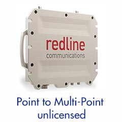 Sub 6GHz - Point to Multipoint System —Up to 186 MB