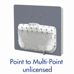 Sub 6GHz - Point to Multipoint System —Up to 450 MB (20 Mhz Channel)