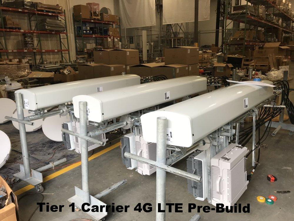 Tier 1 Carrier 4G LTE Pre-Build