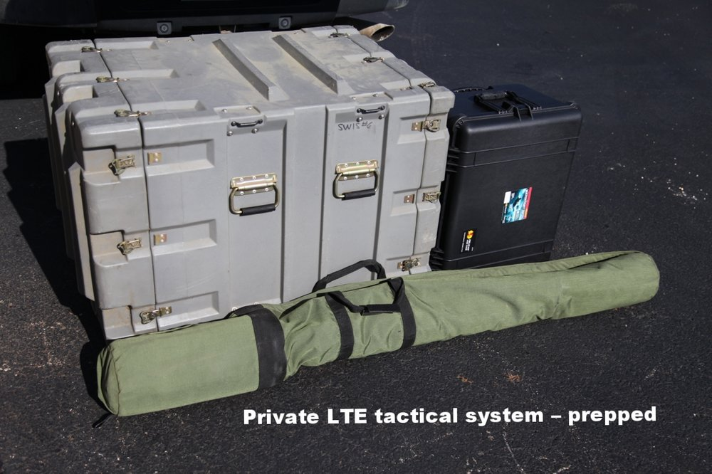 Private LTE Tactical System – Prepped