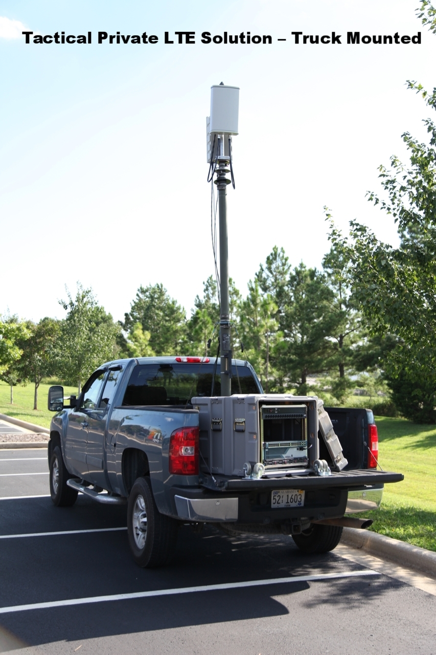 Tactical Private LTE Solution – Truck Mounted