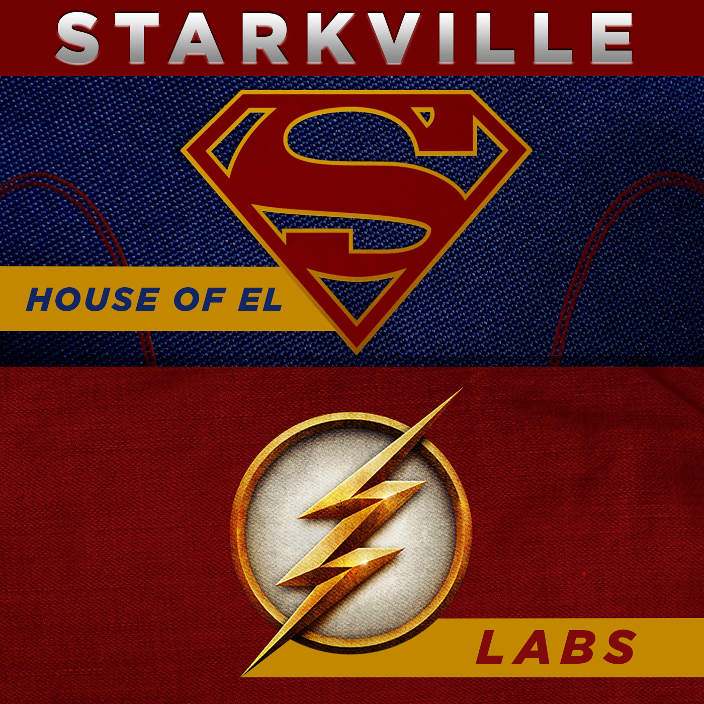 Starkville - Supergirl and The Flash