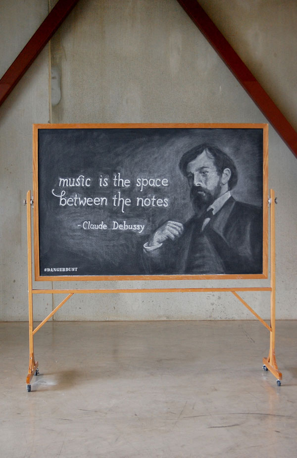 "WEEK 3  -  Claude Debussy ""Music is the space between the notes"""