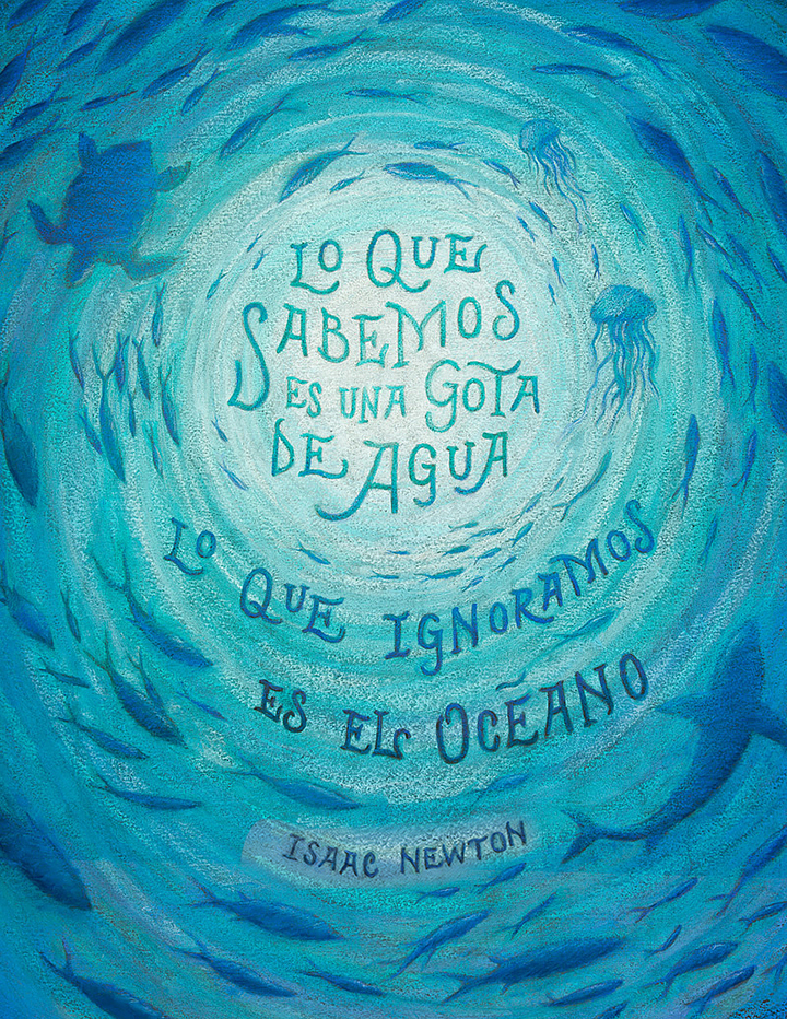 """What we know is a drop, what we don't know is an ocean"" - Isaac Newton"