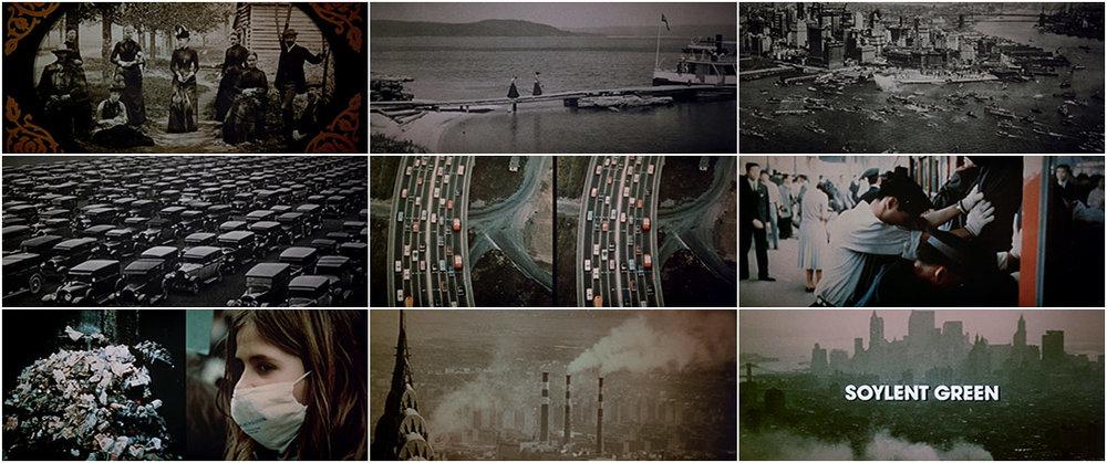Imágenes de la cinta Soylent Green