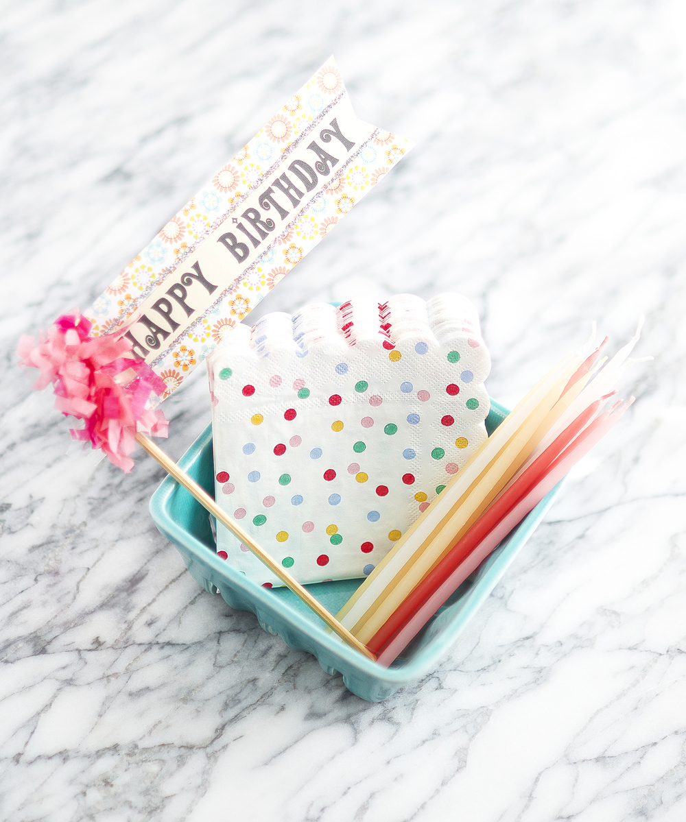 Party essentials! We found these adorable polka dotted napkins from  Icing on the Cake .