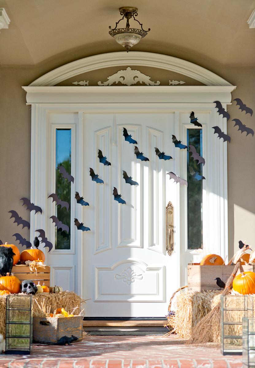 Halloween Front Porch decor