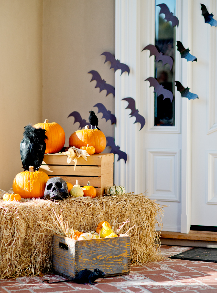 halloween porch decorations — my splendid living