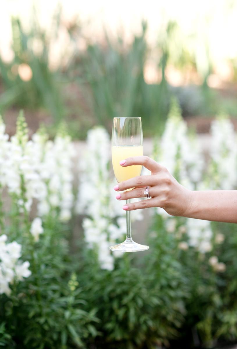 easter brunch champagne