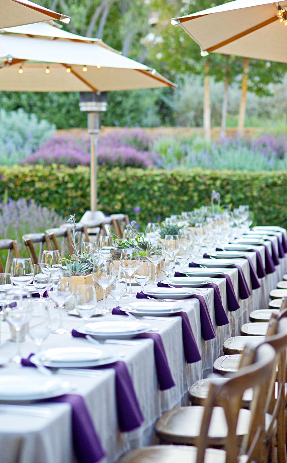 Wine Country Tablesetting | Mysplendidliving.com | #tablescape