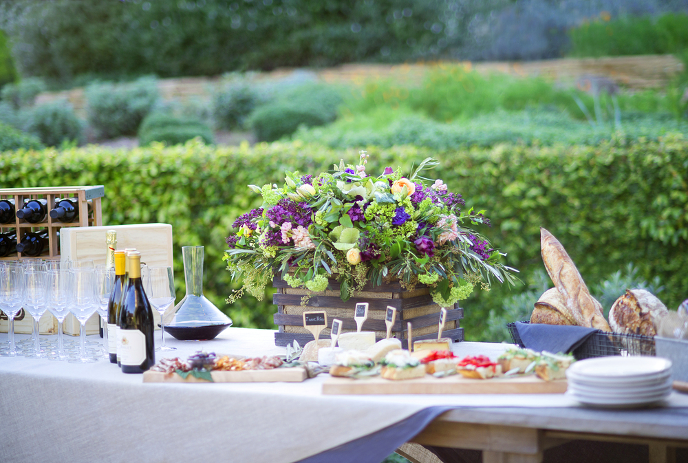 Wine Tasting Garden Party- Gets the tips you need to host your own!