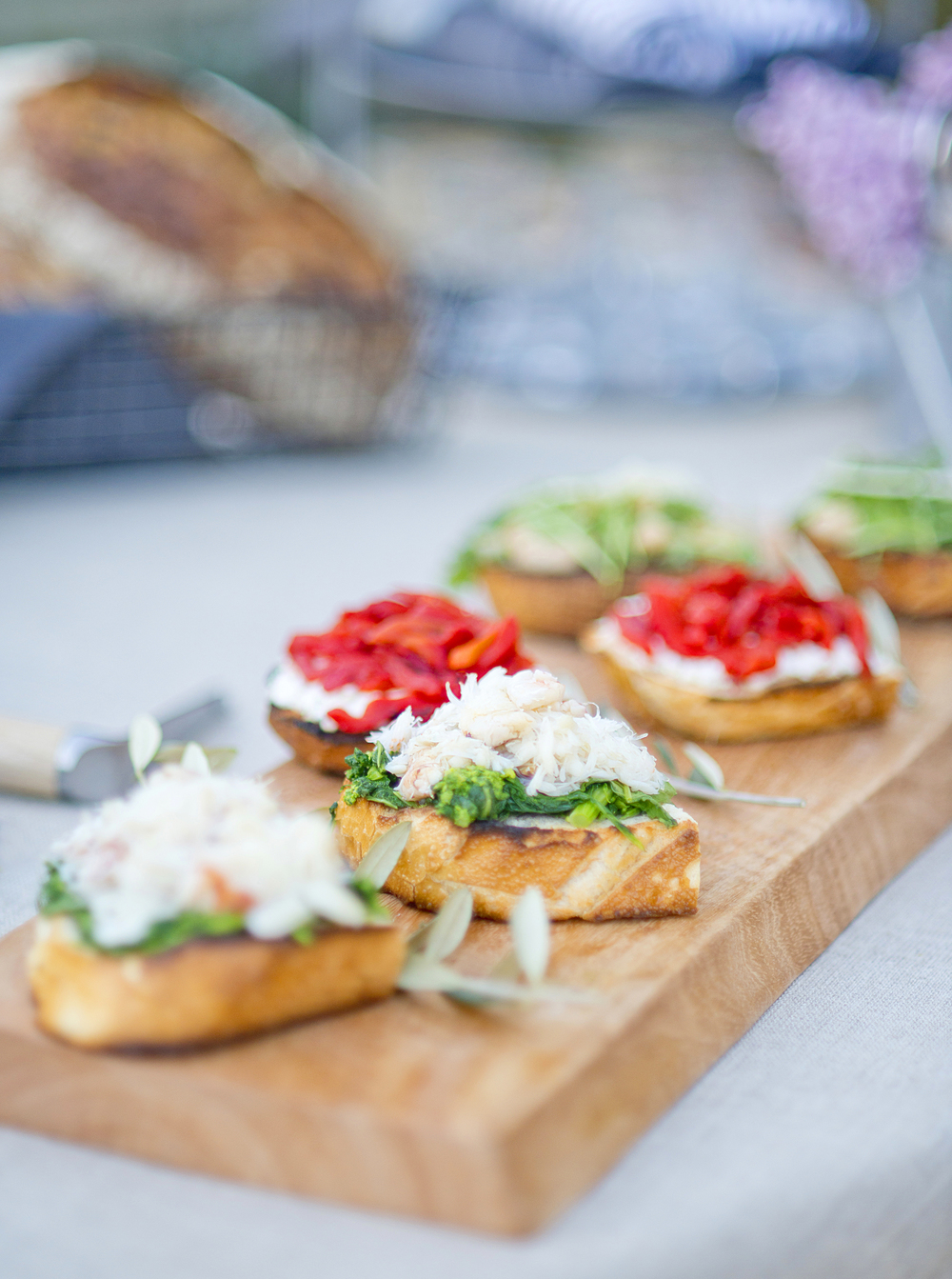 Bruschetta Three Ways Recipe!